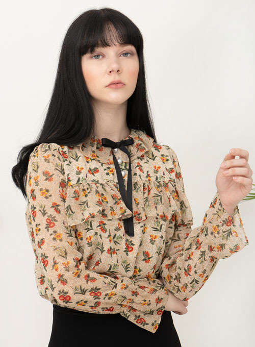Haley Flower Blouse