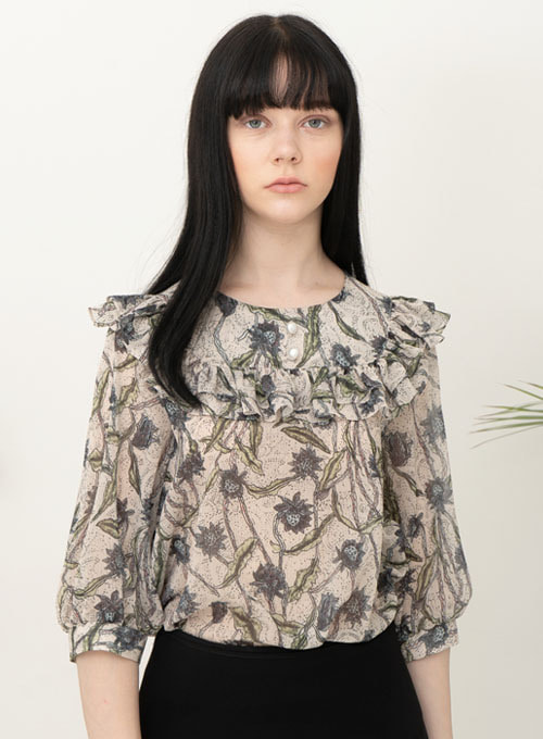 Zoe Flower Blouse