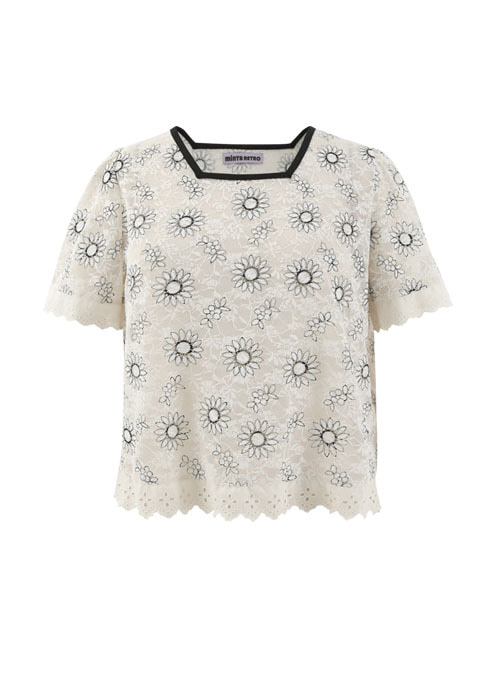 Summer Lace Flower Top [Limited Edition]