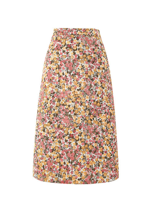Kyra Flower Midi Skirt