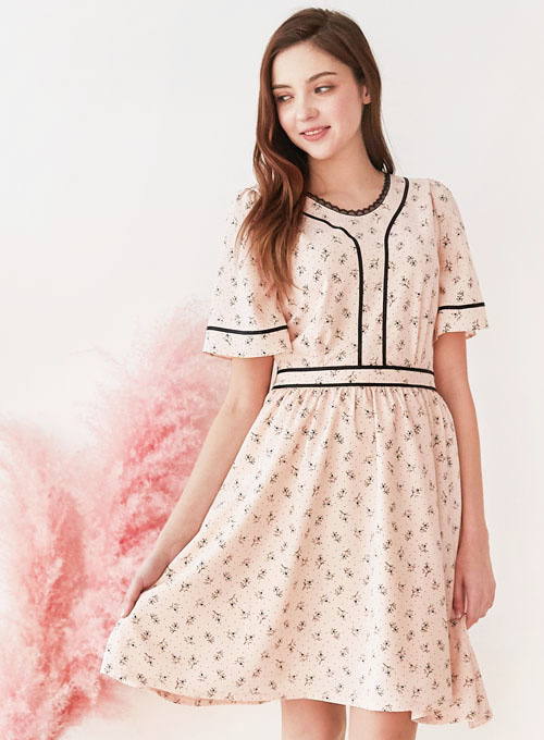 Angelica Pink Dress