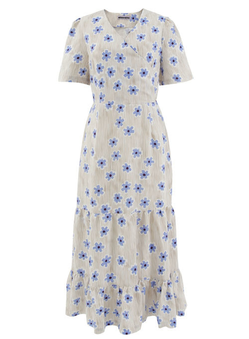 Summer Blue Flower Long Dress [Limited Edition]