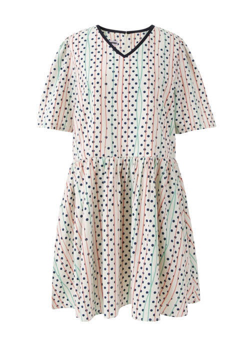 Yed Summer Cotton Dress