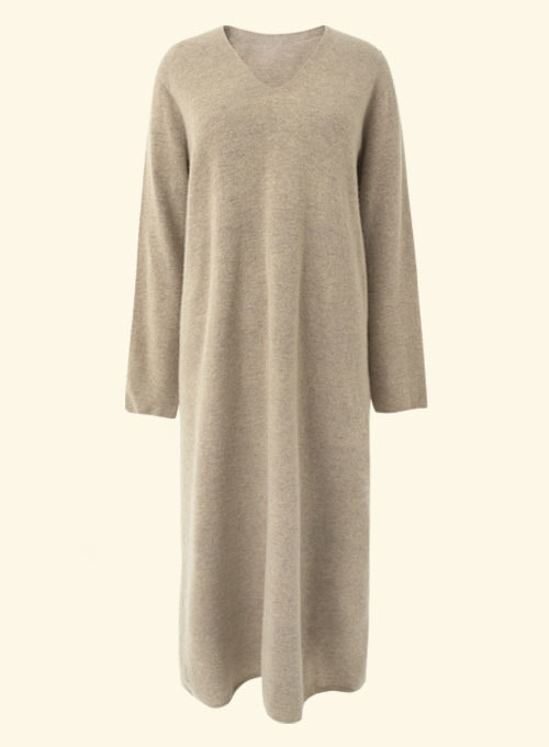 Yully Wholegarment Cashmere Knit Dress
