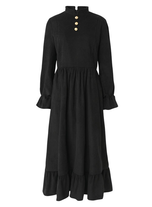 Kathleen Corduroy Long Dress