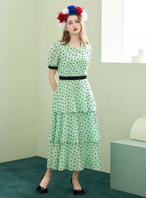 Soma Emerald Green Dress