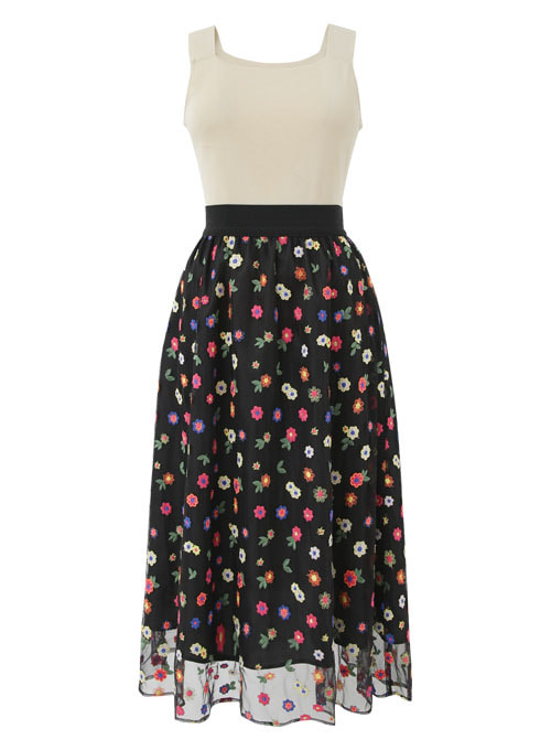Sweet Melody Flower Skirt