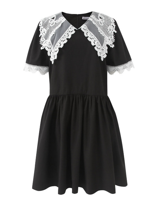 Anika Lace Black Dress