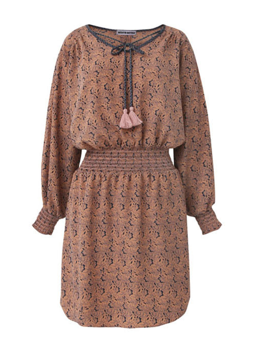 Dell Brown Smoke Dress