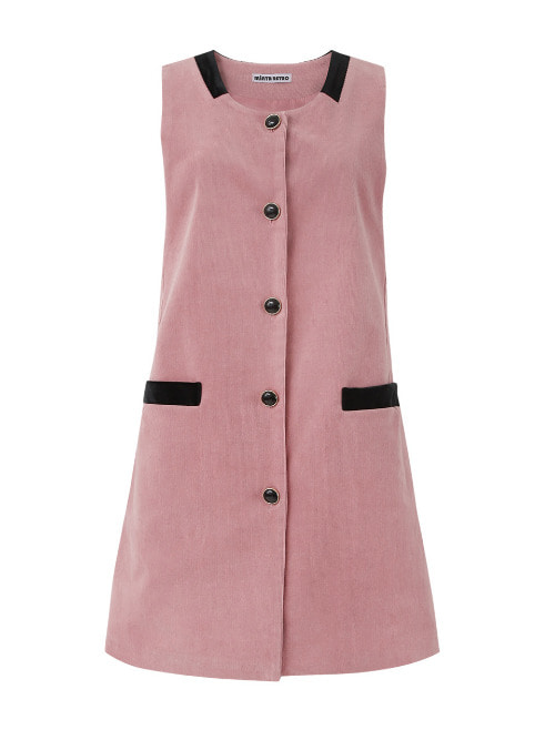 Cotton candy Corduroy Dress