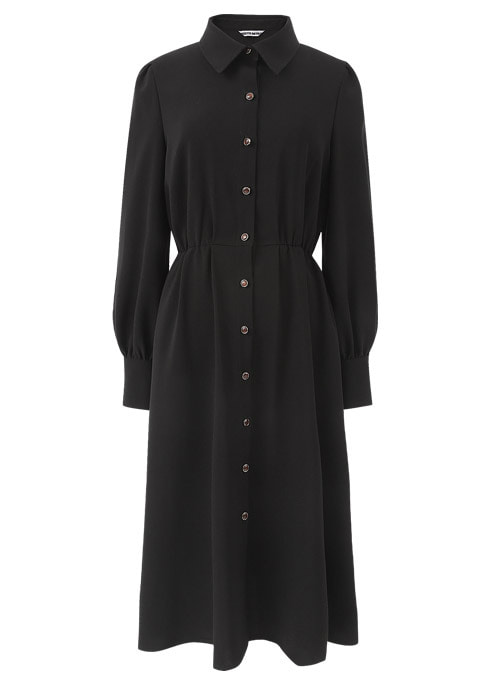 Della Witch Black Long Dress