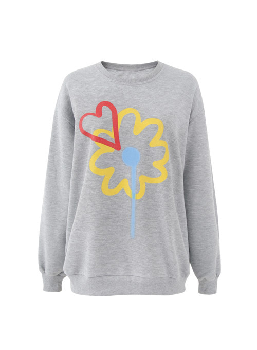 Lili Flower Love Sweatshirt