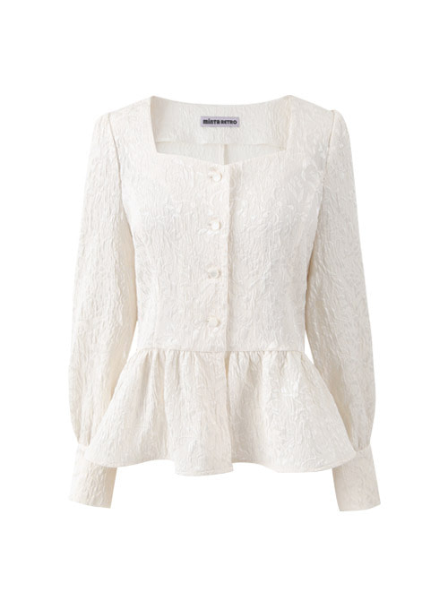 Calla Cream Blouse