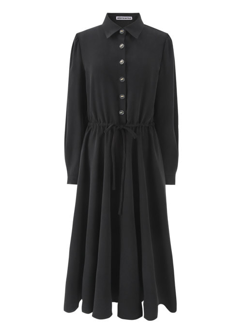 Ivy Black Long Dress