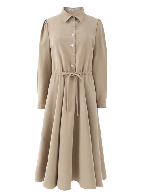 Ivy Beige Long Dress