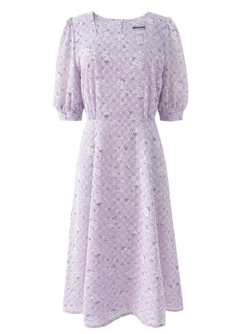 Lavender Light Purple Dress