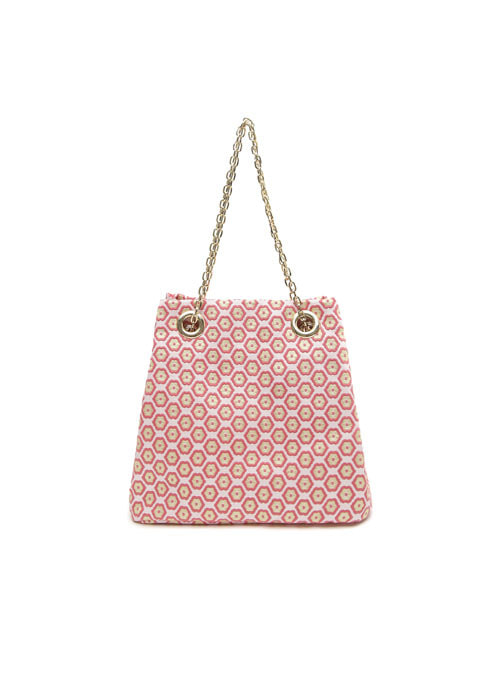 Cherry Blossom Fabric Chain Bag
